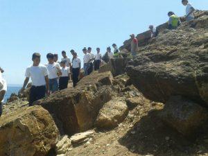 Turismo de aventura en la naturaleza se vivió en Mochima Anzoátegui