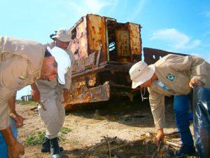 Inparques Falcón apoyó jornada de saneamiento ambiental de playa de Tiraya