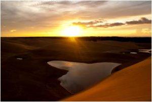 Atardeceres y arenas caminantes del Parque Médanos de Coro cautivan al visitante