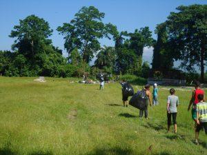 Inparques impulsó jornada de saneamiento en Cerro María Lionza de Yaracuy