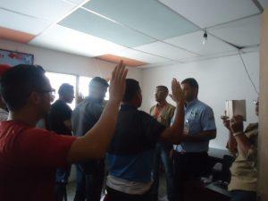 Minea forma 33 brigadistas voluntarios contra incendios forestales en Tucupita