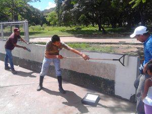 Rehabilitan el Parque Recreacional Menca de Leoni en Apure