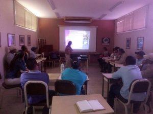 Servidores del Jardín Botánico de Coro recibieron taller sobre control de plagas en plantas xerófitas
