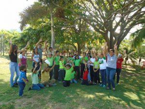 Escolares de Anzoátegui celebraron compartir navideño en Parque de Recreación Andrés Eloy Blanco