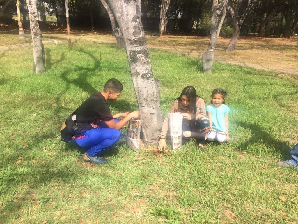 Minea Lara participa en jornada especial de recolección de semillas