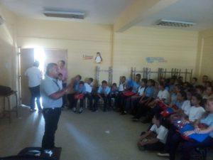 Inparques efectuó conversatorio sobre efemérides ambientales en escuelas de Monagas