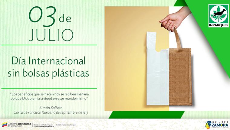 Día Internacional sin bolsas de plástico: un llamado al uso sustentable