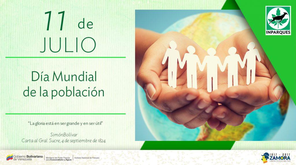 Inparques conmemora Día Mundial de la Población
