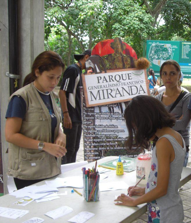 Parque Generalísimo Francisco de Miranda inició actividad del Bio-Museo