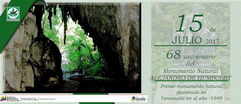 Monumento Natural Alejandro de Humboldt celebró su 68 aniversario