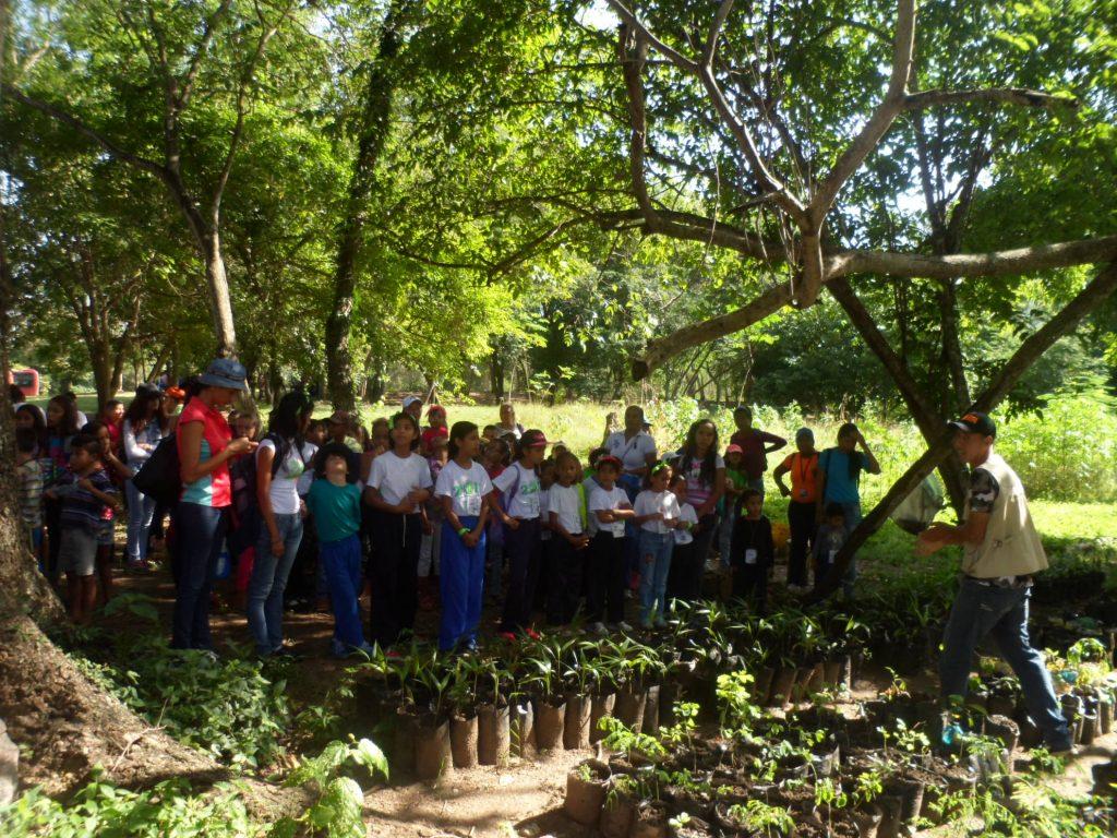 Pequeños vacacionistas visitaron el Parque Recreacional Embalse Cumaripa en Yaracuy