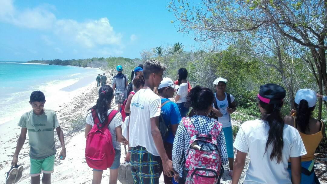 Inicia Reto Juvenil en el Parque Nacional Morrocoy