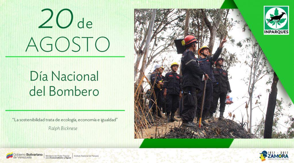 Bomberos celebran su día este 20 de agosto en Venezuela