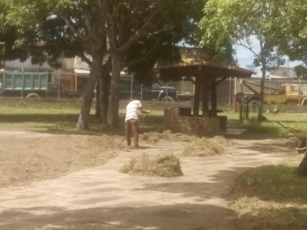 Continúa embellecimiento del Parque de Recreación Andrés Eloy Blanco en Monagas