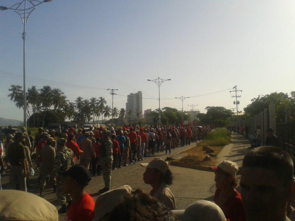 Parque Recreacional Andrés Eloy Blanco de Anzoátegui fue escenario de defensa cívico-militar