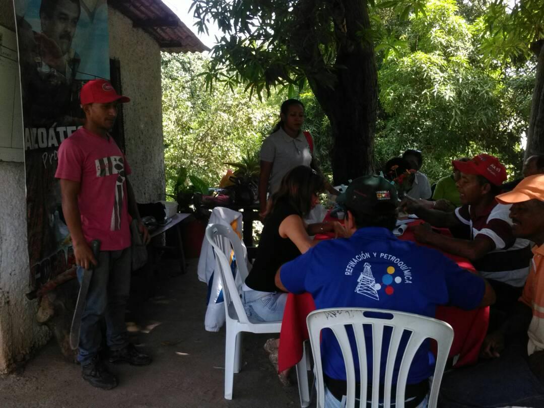 Inparques Anzoátegui hizo acompañamiento en la entrega de semillas a 20 productores