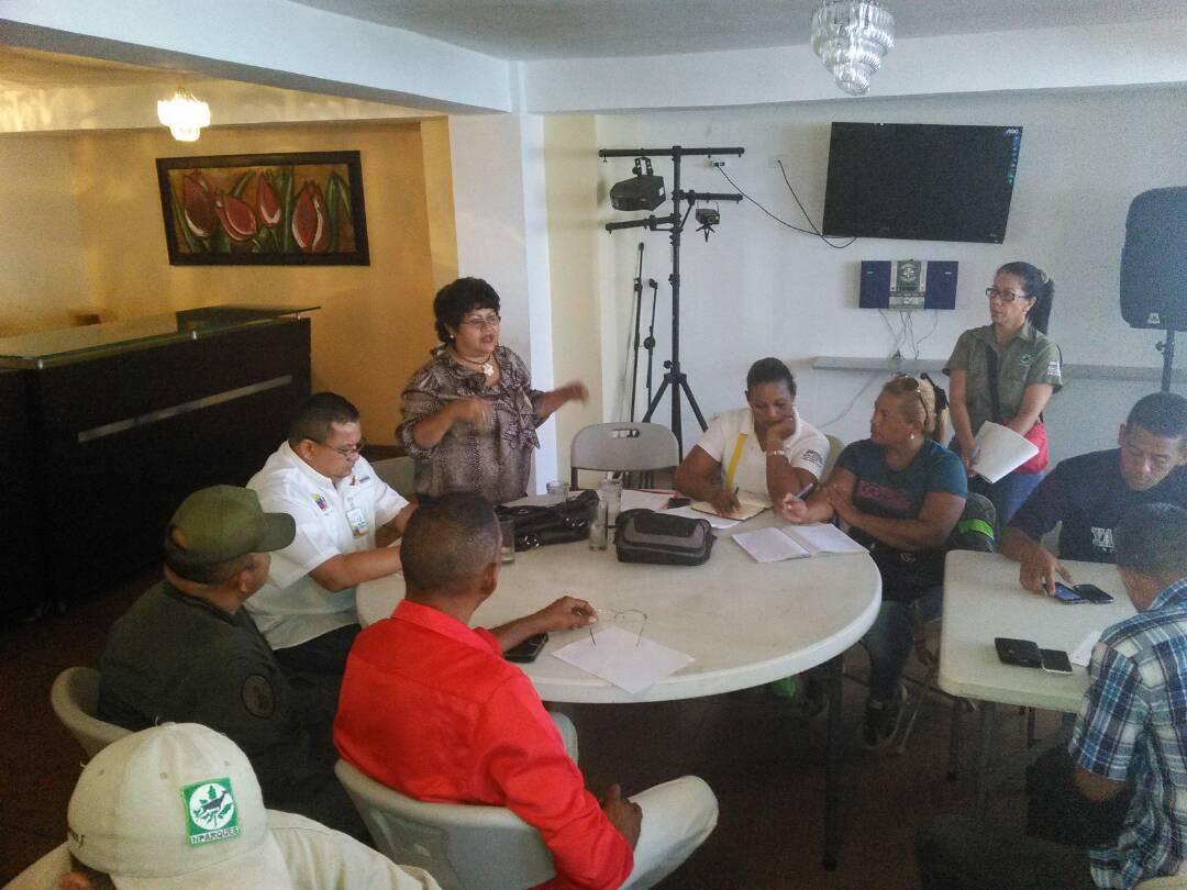 Concretan acciones para resolución de conflictos en el Parque Nacional Morrocoy