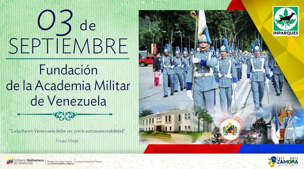 Academia Militar de Venezuela arriba a sus 207 años de fundada