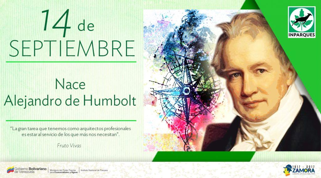 Hoy se conmemora el 248 aniversario del natalicio de Alejandro de Humboldt