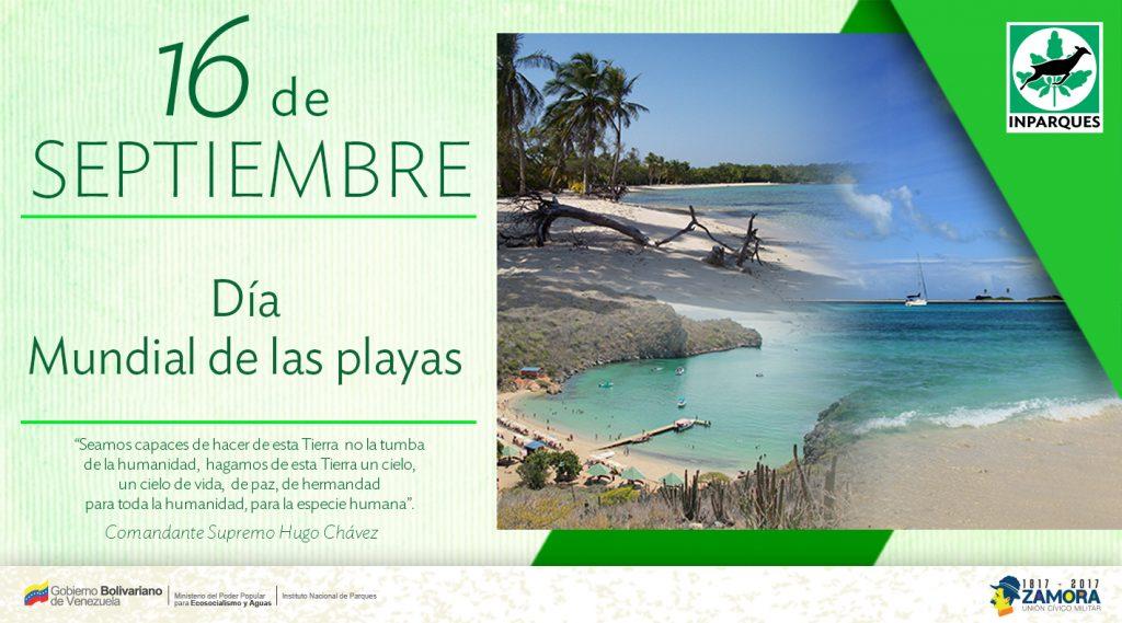 Inparques celebra el Día Mundial de las Playas