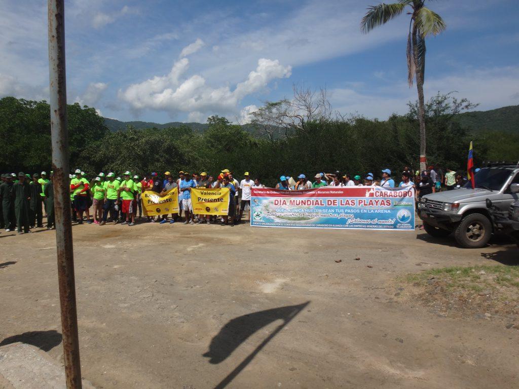 Efectúan jornada de recolección de desechos en el Parque Nacional San Esteban de Carabobo
