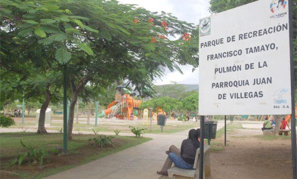 """Inparques inicia plan """"Yo amo mi parque"""" en el Francisco Tamayo"""