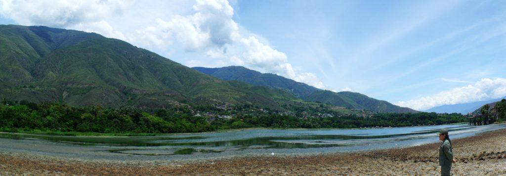 Inparques y Zodi Mérida inspeccionaron Monumento Natural Laguna de Urao
