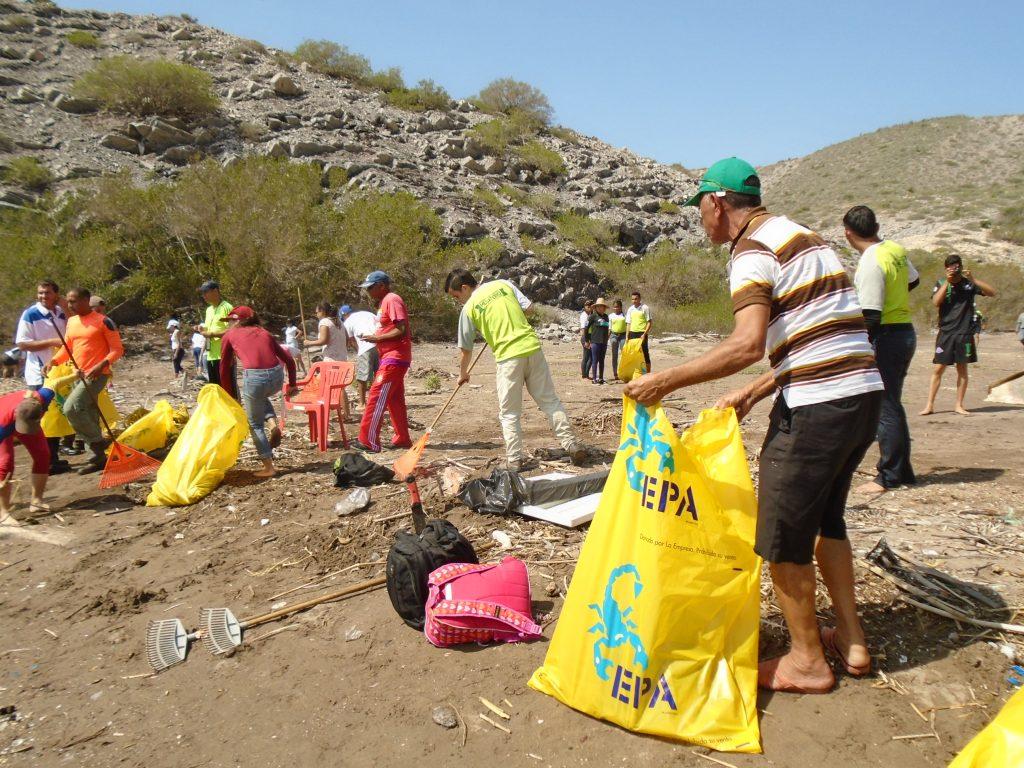 Inparques Anzoátegui lideró Día Mundial de las Playas en Mochima