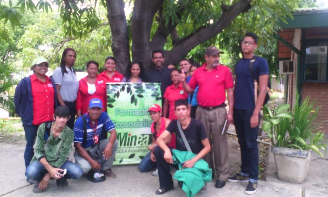 Inparques Anzoátegui se incorporó a mesa de trabajo para formación ecosocialista