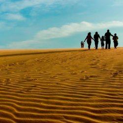 Viajando por Venezuela. Los Médanos de Coro: Un desierto en la costa