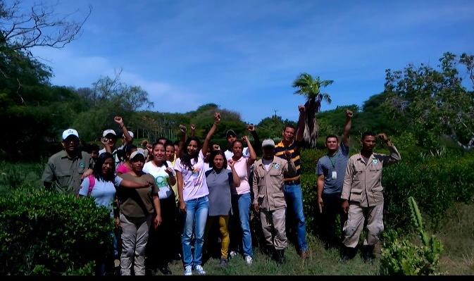 Realizan actividades ecológicas en el Jardín Botánico Xerófito de Coro