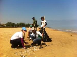 Playas de Anzoátegui recibieron a más de 700 voluntarios en su día