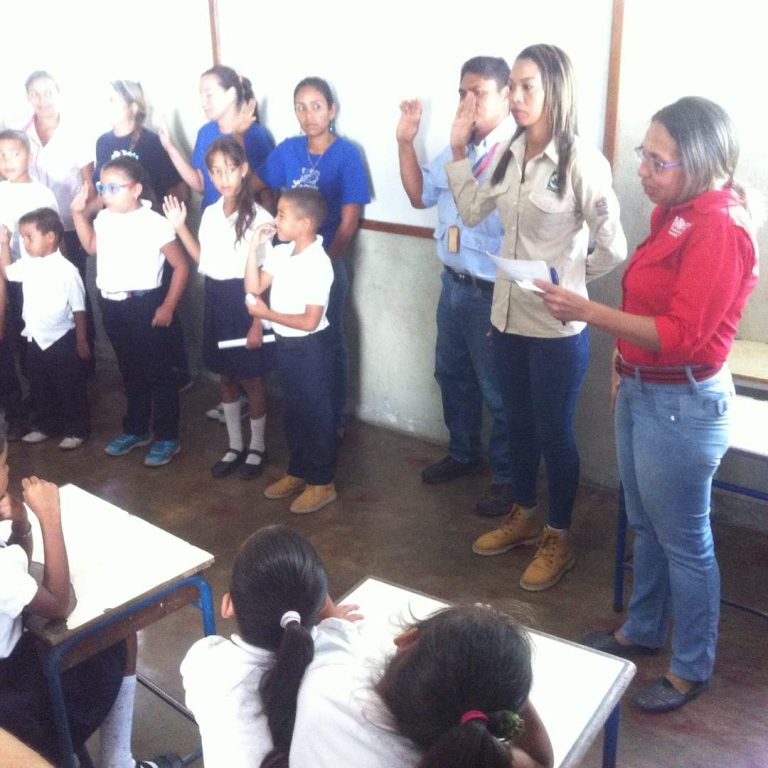 Inparques juramenta brigada ecosocialista en Yaracuy
