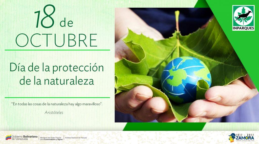 Hoy se conmemora el Día Mundial de la Protección de la Naturaleza