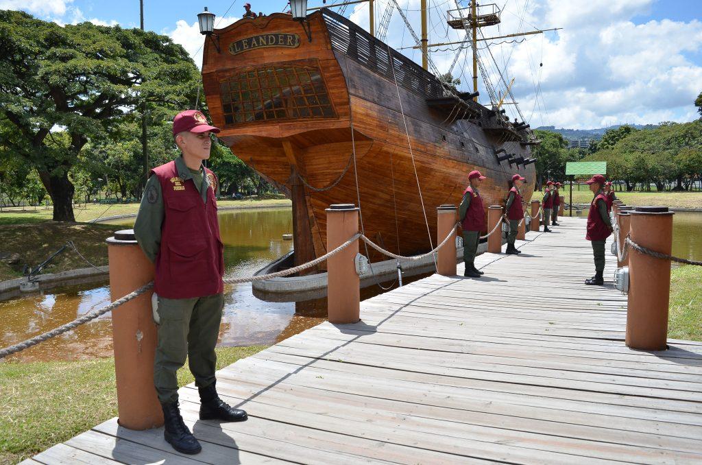Réplica del buque Leander arribó a su sexto aniversario