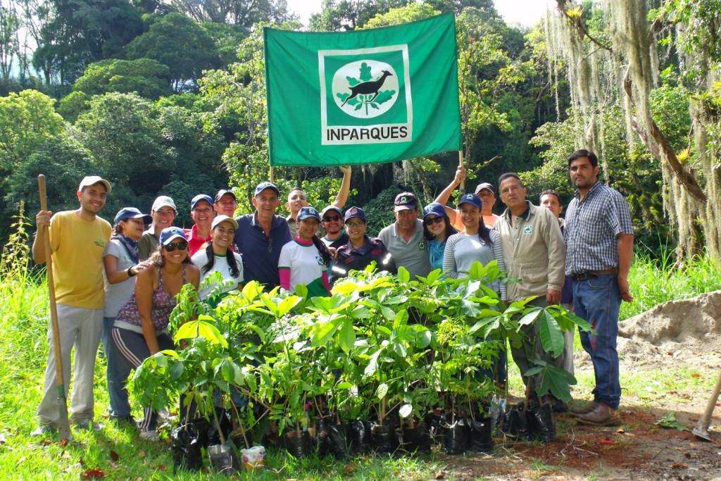 Inparques reforestó margen noroeste del río Albarregas en Mérida