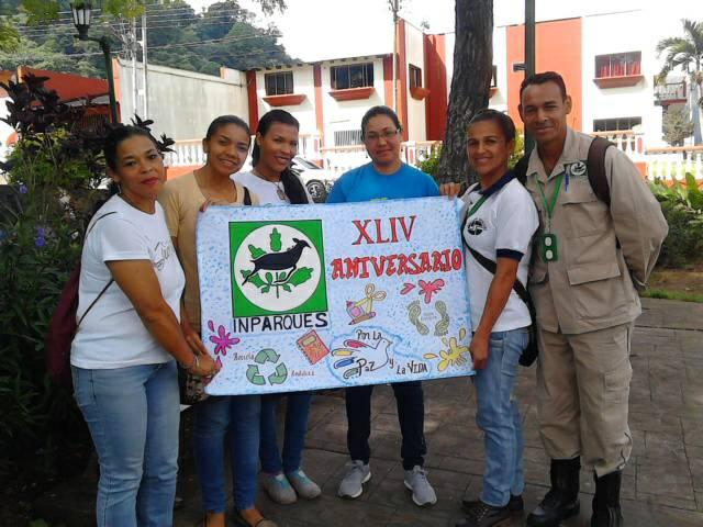 En Monagas realizaron conservatorio con motivo al 44° aniversario de Inparques