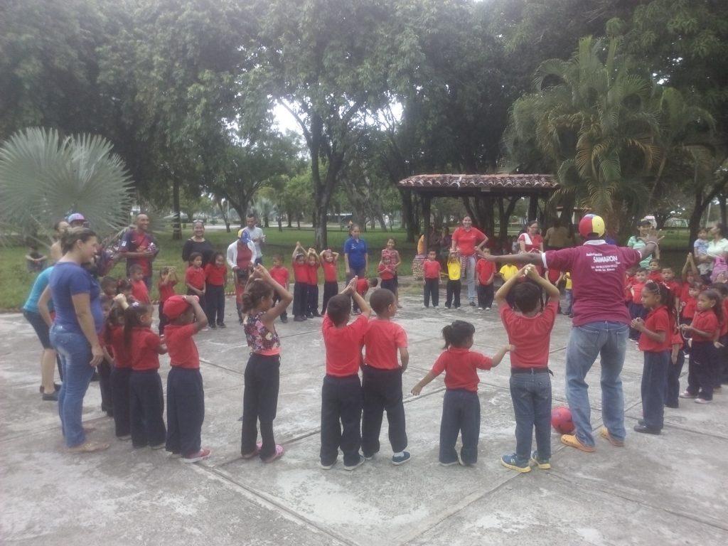 Inparques participó en la celebración de la semana de la educación inicial en Monagas