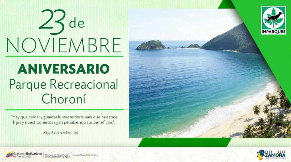 Parque Recreacional Choroní cumple 41 años como atractivo turístico en Aragua