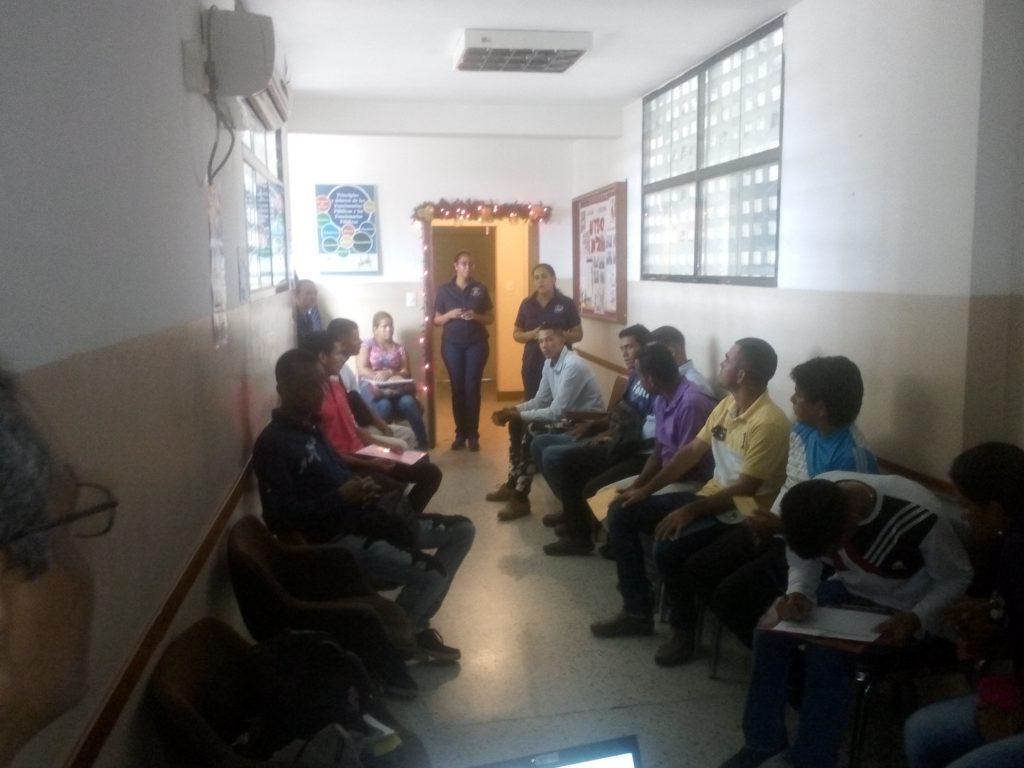 Inparques efectuó conversatorio sobre el agua a jóvenes privados de libertad en Maturín