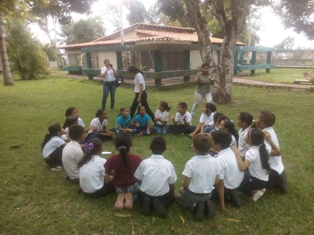 Estudiantes de Maturín disfrutaron del cierre de la celebración del Día del Aire Puro