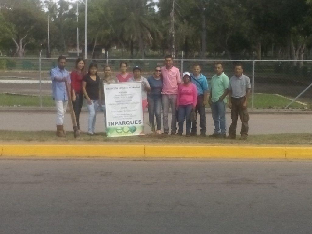 Emprenden embellecimiento y ornato en el Parque de Recreación Andrés Eloy Blanco de Maturín