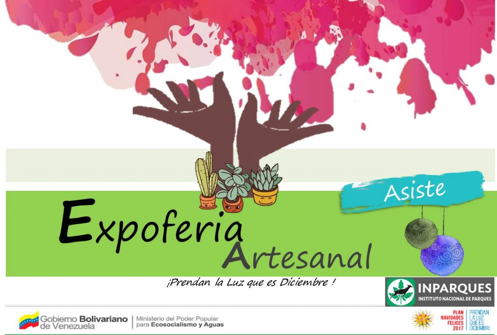 Expoferia Artesanal presentarán en el Jardín Botánico Xerófito Dr. León Croizat