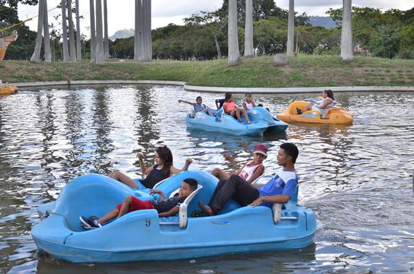 Parques recreacionales abrieron sus puertas en navidad