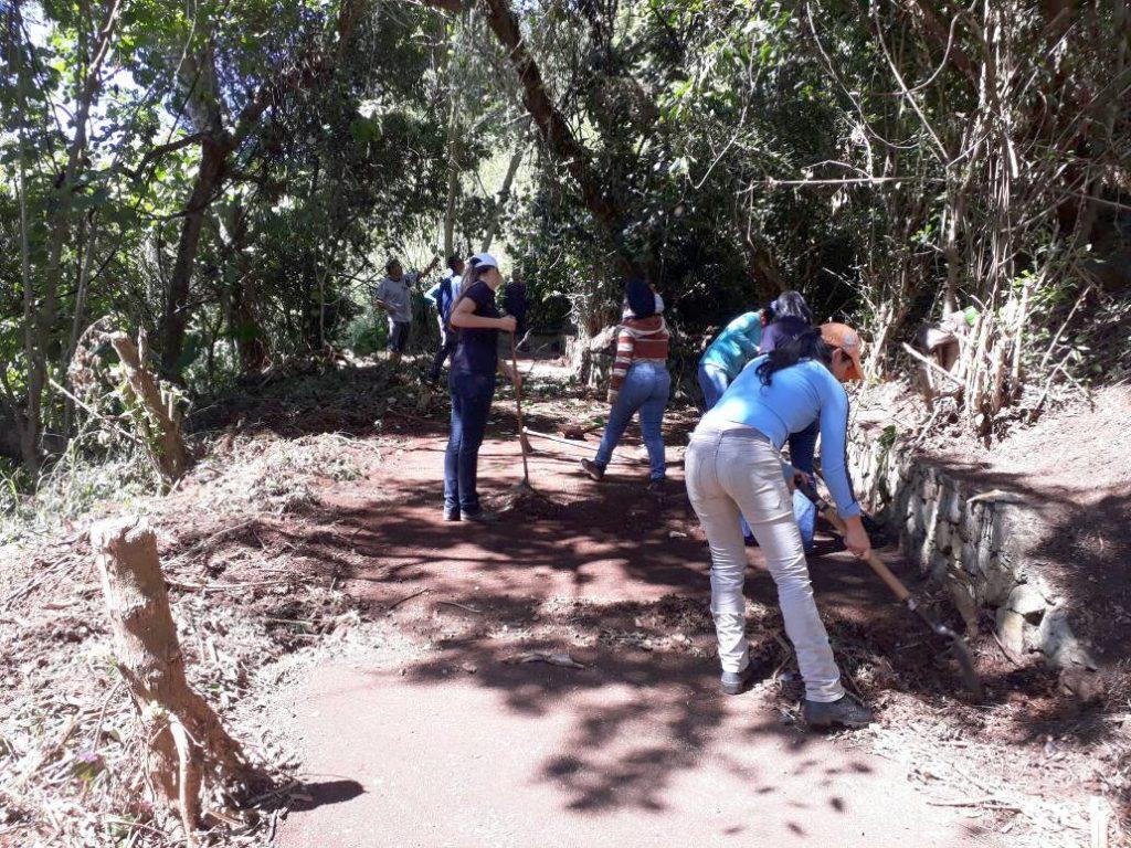 Recuperan 70% de las caminerías del Parque Metropolitano Albarregas de Mérida