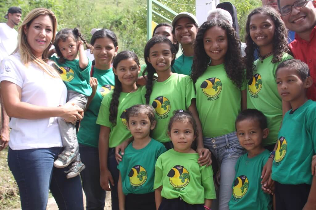 Más de tres mil niñas y niños conforman programa de Pequeños Guardaparques