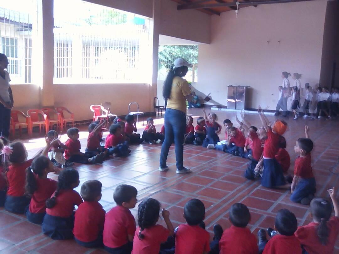 Inparques Falcón se desplegó en las escuelas por el Día de la Educación Ambiental
