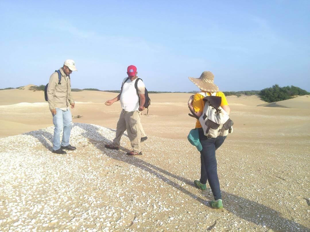 Estudian campo magnético de restos arqueológicos en los Médanos de Coro