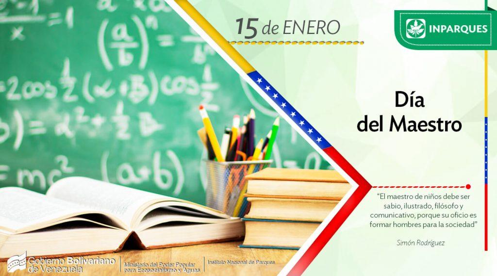 Venezuela rinde homenaje a los educadores en su día