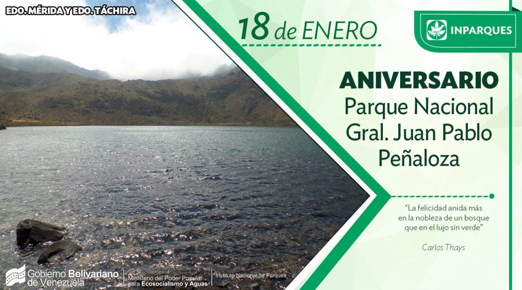 Parque Nacional General Pablo Peñaloza celebra sus 29 años